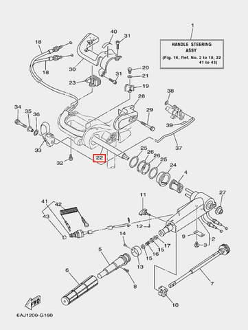 Трубка защитная для лодочного мотора F20 Sea-PRO (16-22)