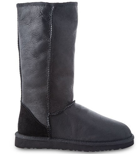 UGG Tall Metallic Black