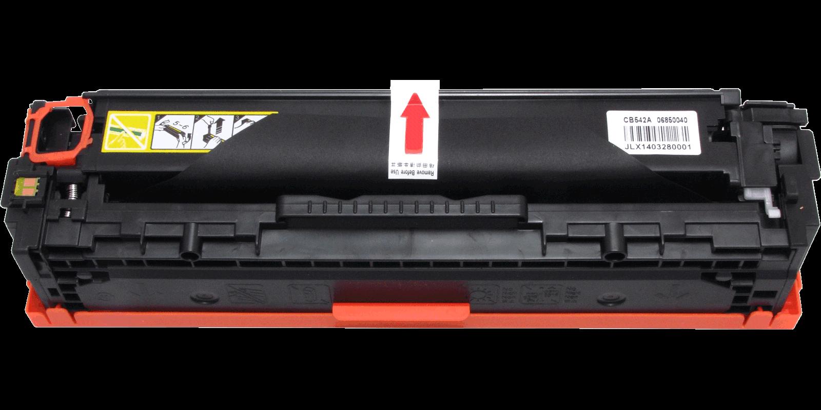 ULTRA №125A CB542A/Cartridge 316, 716, 416, 116 желтый (yellow), для HP/Canon, до 1400 стр.