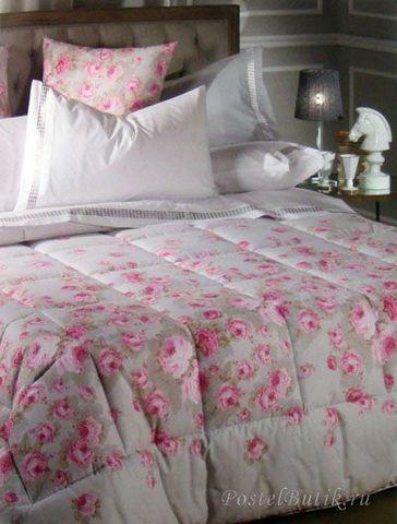 Постельное белье семейное Caleffi Secret Garden лиловое
