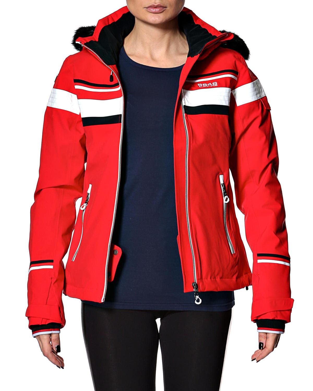 Женская горнолыжная куртка 8848 Altitude Carlin красная (668703) фото