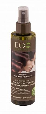 ECOLAB Средство-спрей для укладки и восстановления волос