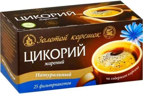 Цикорий с кофе жаренный 20пак*2г (Юником)