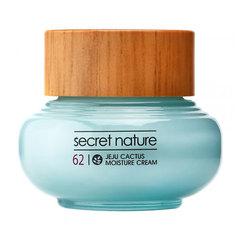 Secret Nature Jeju Cactus Moisture Cream - Разглаживающий крем с экстрактом кактусом