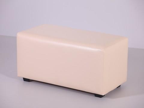 Пф-02 Пуфик прямоугольный (бежевый) для дома и магазина