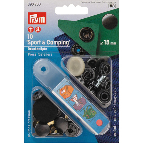 Кнопки Спорт и Кемпинг PRYM 390200