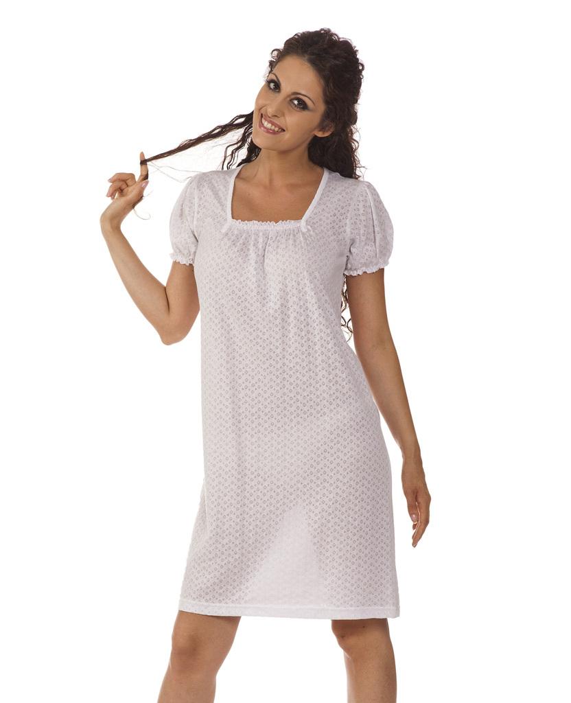 Хлопковая ночная сорочка B&B (Домашние платья и ночные сорочки)