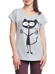 37662-19-2 футболка женская, серая