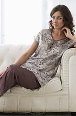 Пижама женская с брюками Mia-Amore