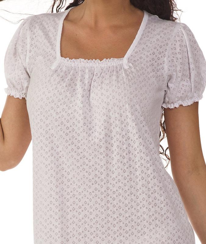 Хлопковая ночная сорочка B&B