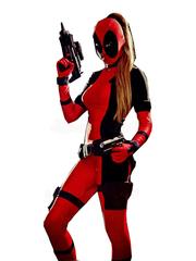 Costume Deadpool Lady Marvel