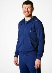 Толстовка с капюшоном мужская Nordski Base Zip Hood Navy