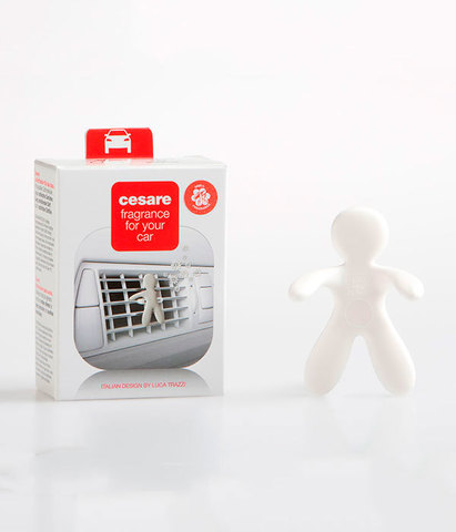 Ароматизатор для автомобиля Cesare Свежий воздух (белый), Mr&Mrs Fragrance