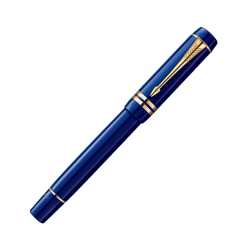 Parker Duofold - Historical Colors Lapis Lazuli GT International, перьевая ручка, F