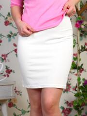 0333 юбка женская , белая