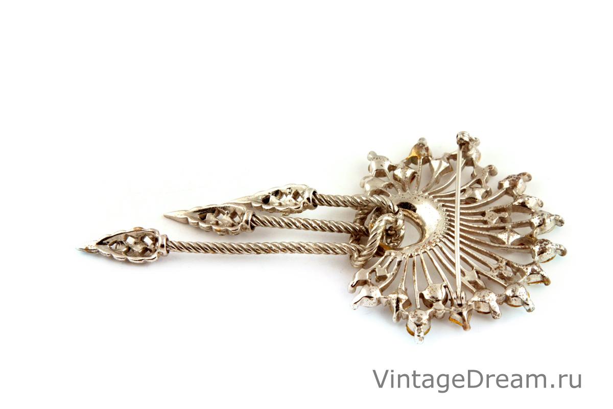 Изысканный серебряный комплект от Boucher, 40-е гг.