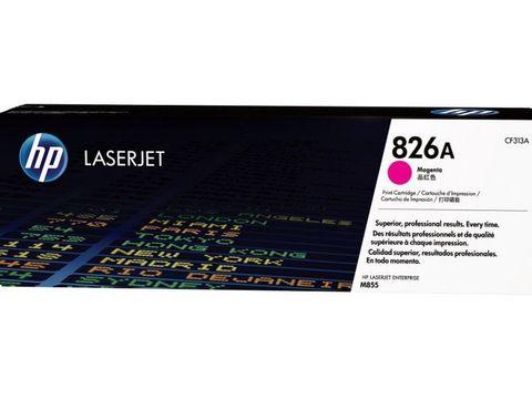 Картридж HP CF313A (826A) для HP Color LaserJet Enterprise M855, красный. Ресурс 31500 страниц