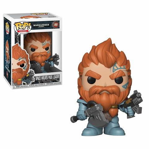 FUNKO POP! Vinyl: Games: Warhammer 40K: Space Wolves Pack Leader 38327