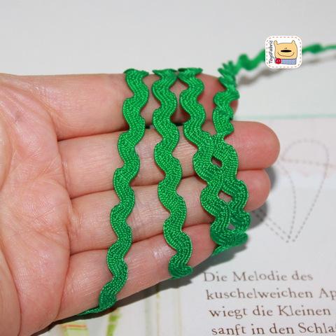 Вьюнчик 5мм (ярко зеленый) ЛВ37