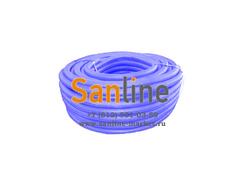Труба гофра ПНД (16-18) d=25 Синяя 50м
