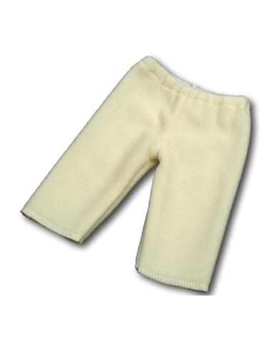 Флисовые рейтузы - Кремовый. Одежда для кукол, пупсов и мягких игрушек.