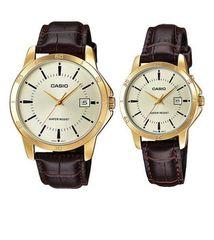 Парные часы Casio Standard: MTP-V004GL-9A и LTP-V004GL-9A