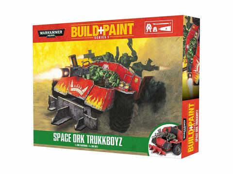 Build+Paint: Space Orks Trukkboyz