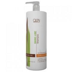 OLLIN BASIC LINE Шампунь для частого применения с экстрактом листьев камелии 750мл/ Daily Shampoo with Camellia Leaves Extract