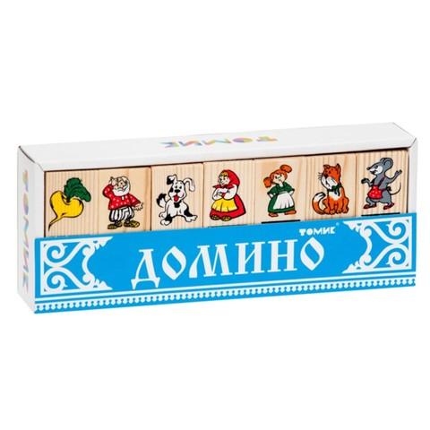 Детское домино сказка Репка, Томик, арт. 5555-6