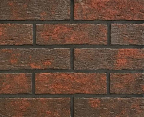 King Klinker - Red house (HF17), Old Castle, 240x71x10, NF - Клинкерная плитка для фасада и внутренней отделки