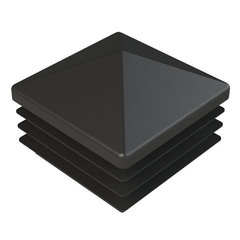 Заглушка для сваи 80х80 мм из металла