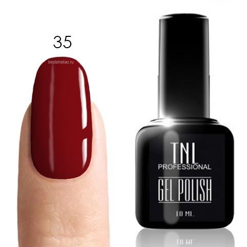 TNL Classic TNL, Гель-лак № 035 - маджента (фиолетово-красный) (10 мл) 35.jpg