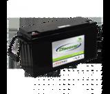 Тяговый аккумулятор Discover EV512A-160 ( 12V 165Ah / 12В 165Ач ) - фотография