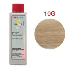 CHI Ionic Shine Shades Liquid Color 10G  (Очень светлый золотой блондин) - стойкая краска для волос