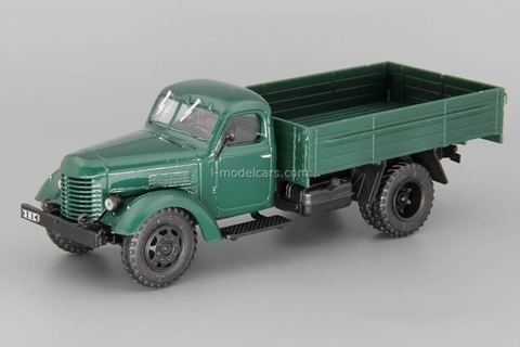ZIS-150 flatbed truck dark green 1:43 DeAgostini Auto Legends USSR Trucks #16