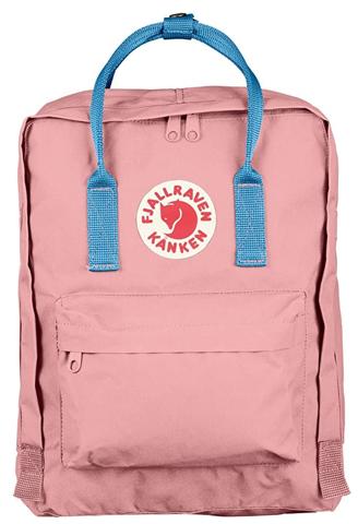 Рюкзак Fjallraven Kanken Classic Розовый + Голубой