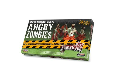 Zombicide: Angry Zombies - Box of Zombies set 3