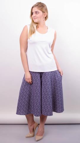 Лолита. Оригинальные шорты-юбка больших размеров. Пудра.