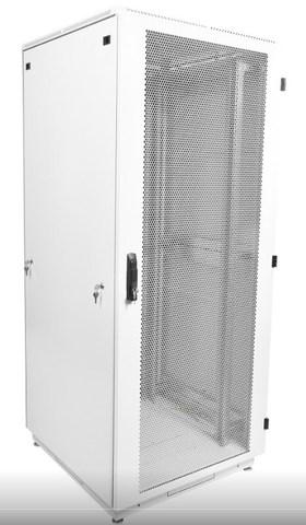 Шкаф телекоммуникационный напольный 42U (600 × 1000) дверь перфорированная
