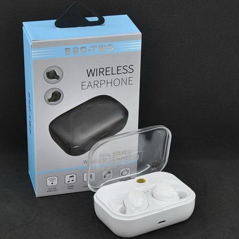 Наушники Bluetooth вакуумные TWS S20 white