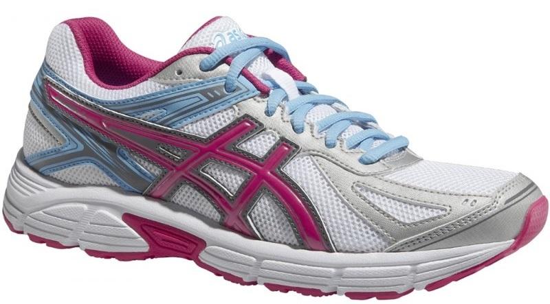Женские кроссовки для бега Asics Patriot 7 (T4D6N 0120) белые фото