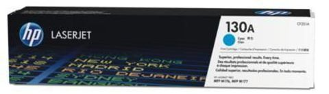 Картридж HP CF351A (130A) для принтеров HP Color LaserJet Pro MFP M176n, M177fw (голубой, 1000 стр.)