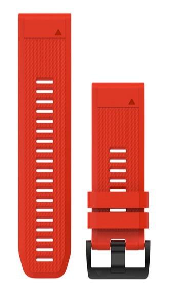 Сменный ремешок Garmin QuickFit 26 мм красный