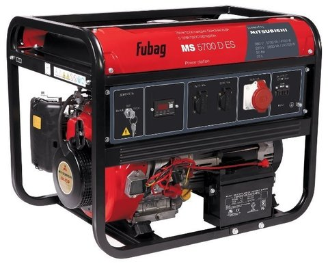 Кожух для бензиновой электростанции Fubag MS 5700 D ES