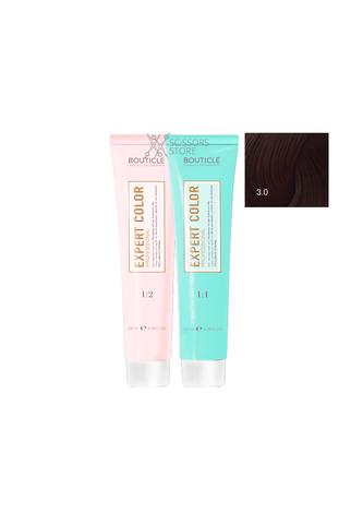 Expert Color Hair Color Cream 3/0 темный шатен 100 мл