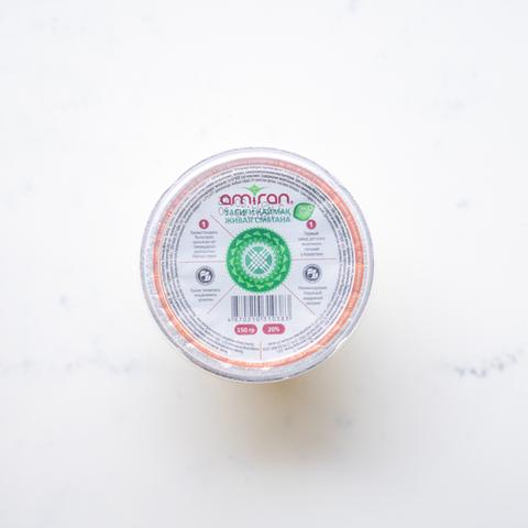 Сметана Amiran 20%, 150 гр