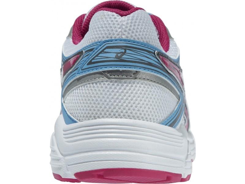 Женские беговые кроссовки Asics Patriot 7 (T4D6N 0120) белые фото пятка
