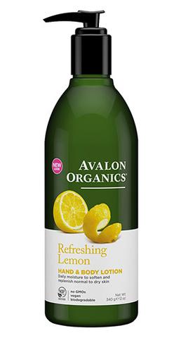Лосьон для рук и тела с маслом лимона, Avalon Organics