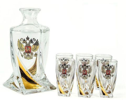 Подарочный набор для водки из хрусталя