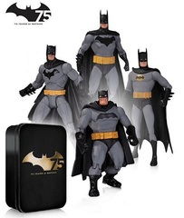 Batman 75th Anniversary 4-Pack Set 2 Action Figure